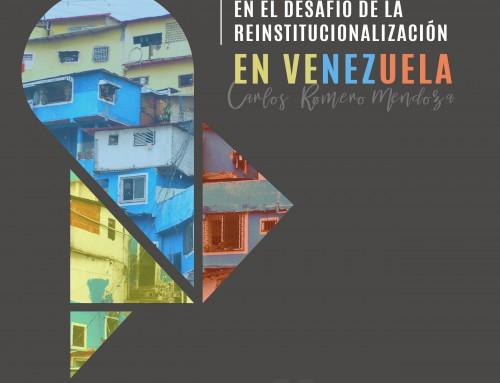 Las finanzas del municipio en el desafío de la reinstitucionalización en Venezuela