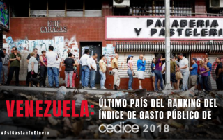 Venezuela Ultimo pais en el IGP 2018