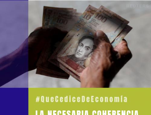 #QueCediceDeEconomía 28 | La necesaria coherencia de la política económica para la transición