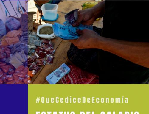 #QueCediceDeEconomía 31 | Estatus del salario mínimo en Venezuela