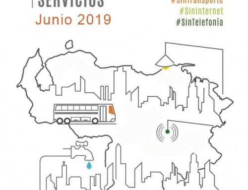 Monitoreo de Servicios: Junio 2019