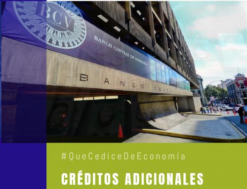 #QueCediceDeEconomía 34 | Créditos adicionales y el silencioso quiebre de Venezuela