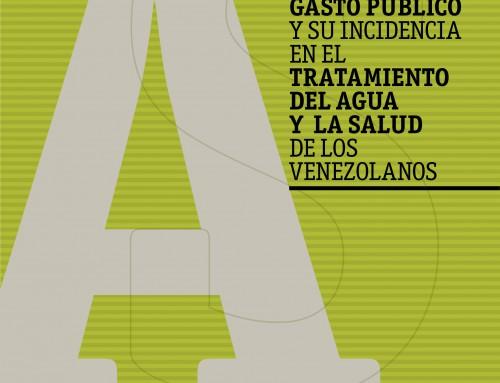Gasto público y su incidencia en el tratamiento del agua y la salud de los venezolanos