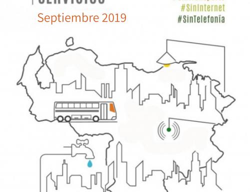#MonitoreoServicios: Al borde de colapso (Septiembre 2019)