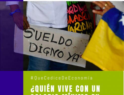 #QueCediceDeEconomía 36 | ¿Quién vive con un salario mínimo en Venezuela?