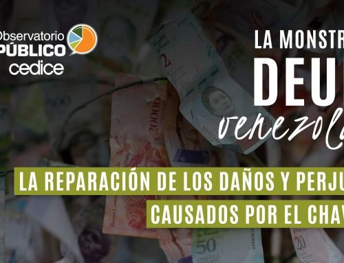 La reparación de los daños y perjuicios causados por el chavismo