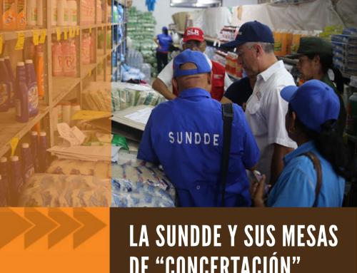 """La SUNDDE y sus mesas de """"Concertación"""""""