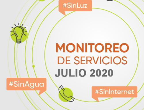 #MonitorServicios: Al borde del colapso (Julio 2020)