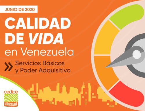 Junio 2020 | Calidad de Vida en Venezuela Servicios Básicos y Poder Adquisitivo