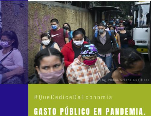 #QuéCediceDeEconomía 42 | Gasto público en pandemia. Una aproximación al caso Venezuela