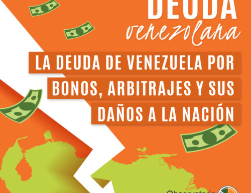 La deuda de Venezuela por bonos, arbitrajes y daños a la nación