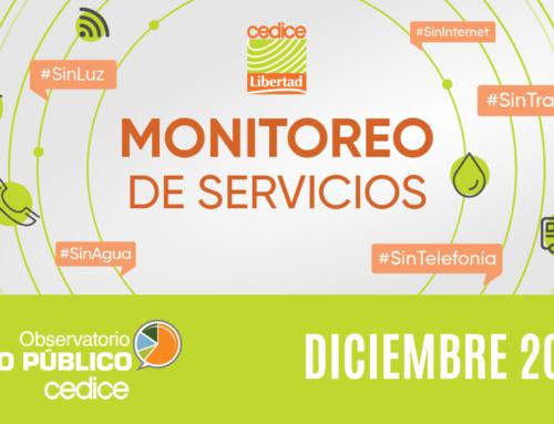 Monitoreo de Servicios Públicos en Venezuela (Diciembre 2020)