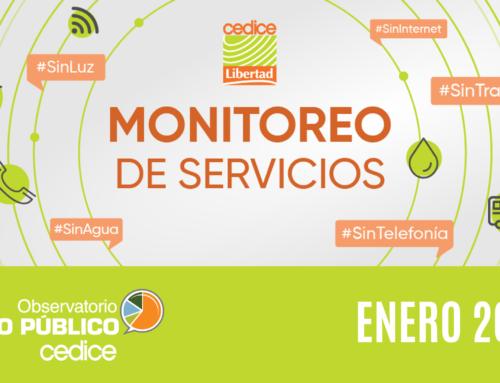 Monitoreo de Servicios Públicos en Venezuela (Enero 2021)