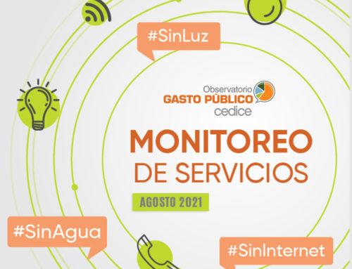 Monitoreo de Servicios Públicos en Venezuela (Agosto 2021)
