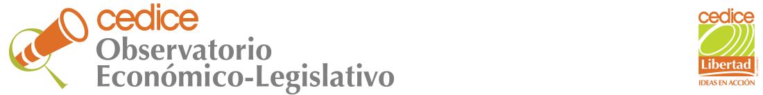 Observatorio Económico Legislativo | CEDICE Logo